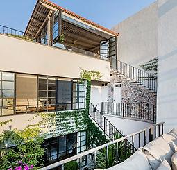 Casa Garita 17B exterior view of 2nd lev
