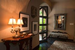 Casa Alegria entry halway to living room