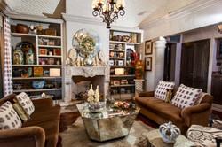 Casa Tres Angeles living room
