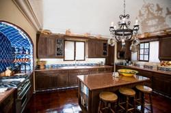 Casa Tres Angeles kitchen