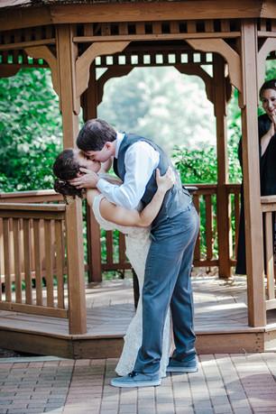 Pavillion at Crystal Lake Wedding by Heidi Hanson