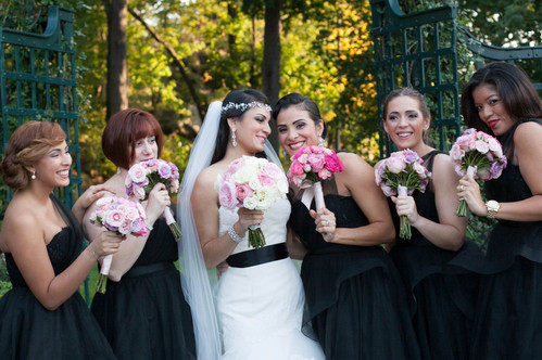 NY Botanical Garden Wedding