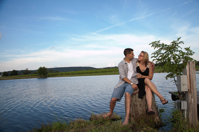 Winery Engagement Session