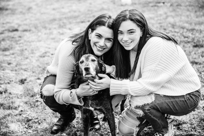 Family and Dog Portrait Sessions in Connecticut