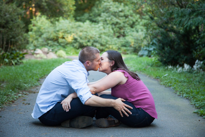 Fall Engagement Sessions in Connecticut