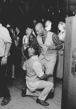 Crazy Groomsmen Photos New York Wedding