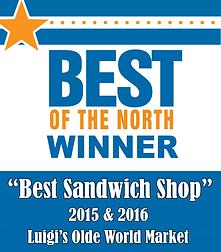 Voted Best Sandwich Shop!
