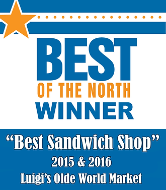 Voted Best Sandwich Shop!