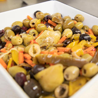 Mixed Olive Salad