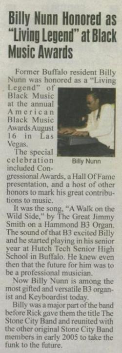 BILLY & BMA AWARDS