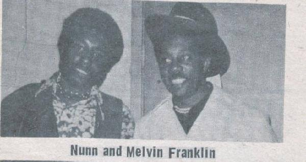 BILLY & MELVIN FRANKLIN (TEMPS)