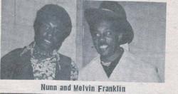 BILLY & MELVIN FRANKLIN (TEMPS)