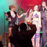 Rick James Tribute Show singing Mary Jan
