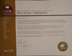 BILLY BMHF AWARD