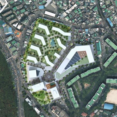 Masterplan at Yongsan, Seoul