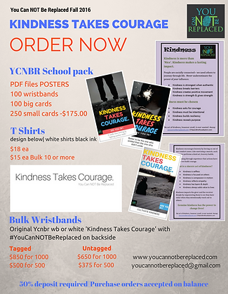 Kindness Take Courage Packet