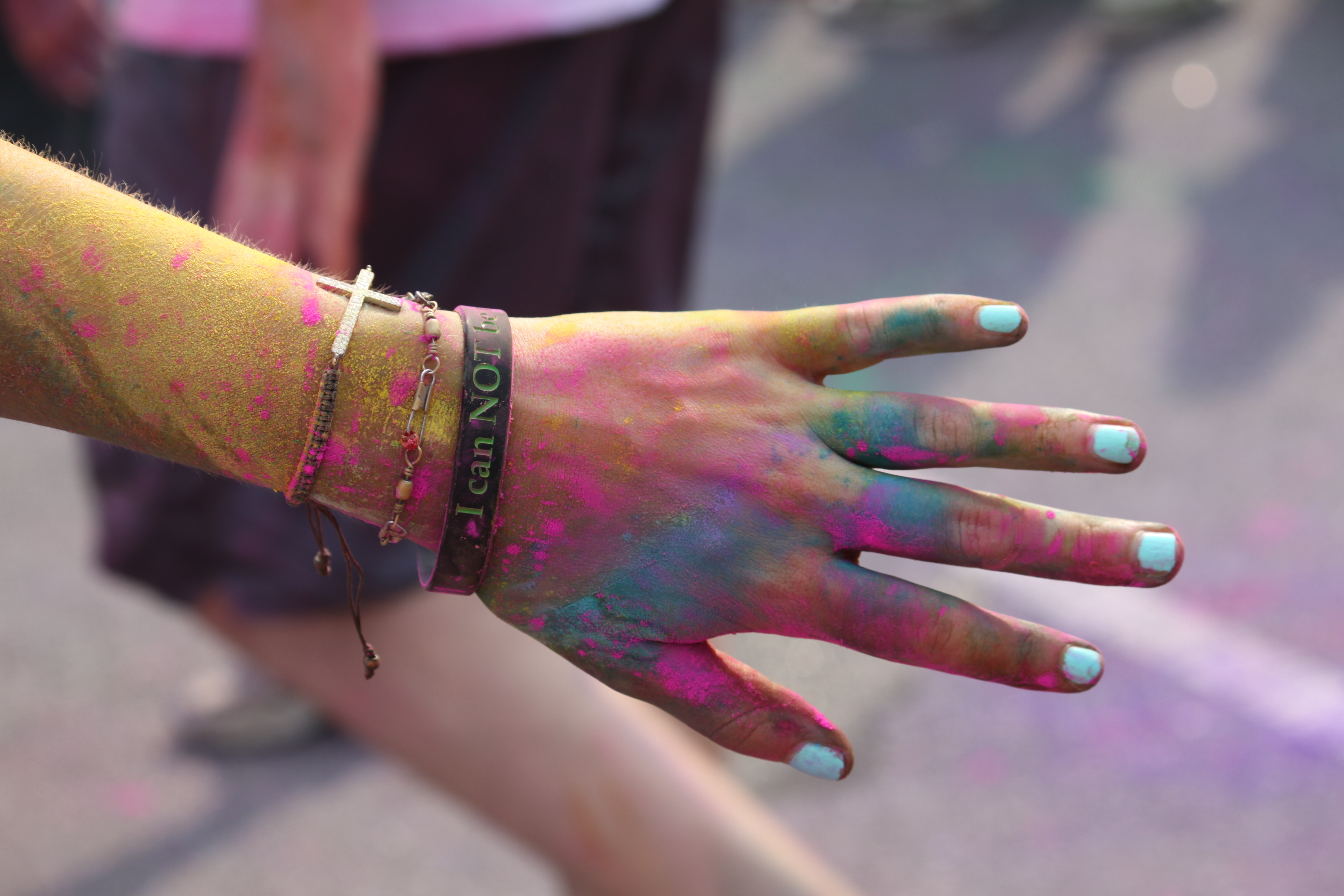 Passing at the Color Run