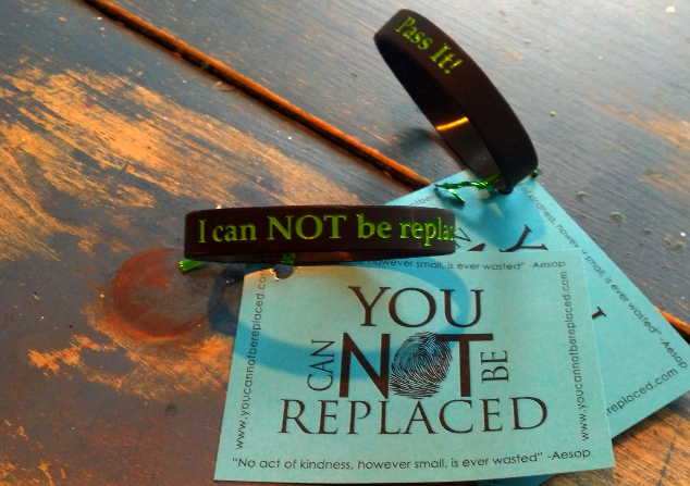 YCNBR tagged wristbands