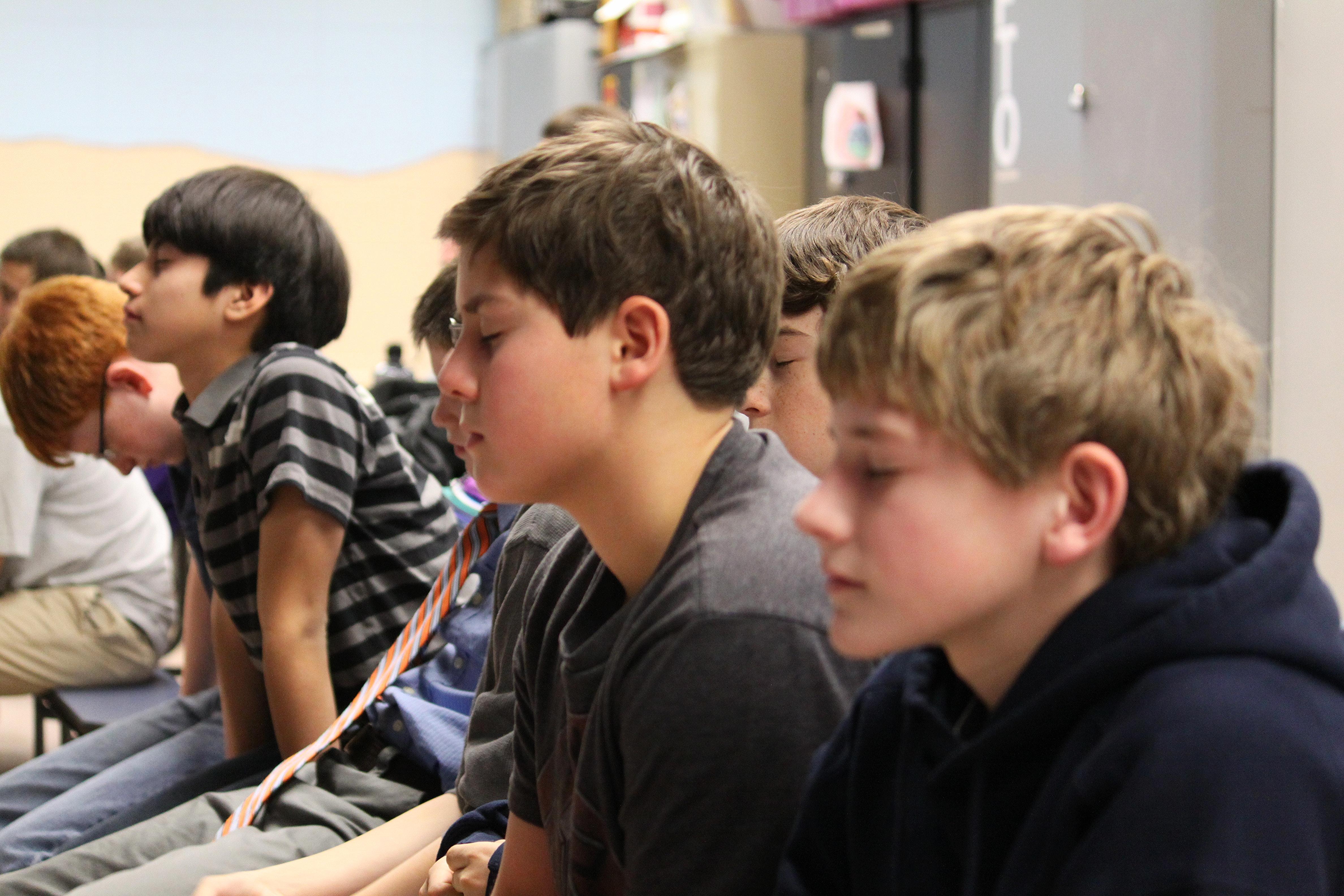 YCNBR student assembly