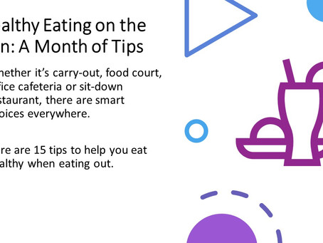 15 Tips for Eating Healthy on the Run