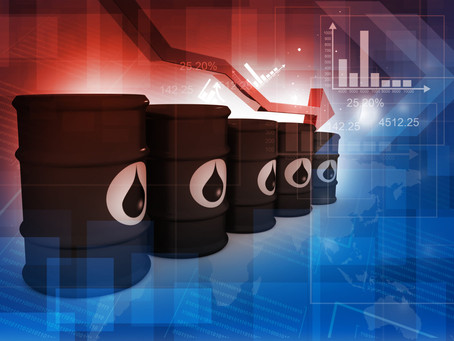 With nowhere to store oil, prices plunge