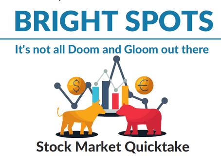 Bright Spots in the Stock Market