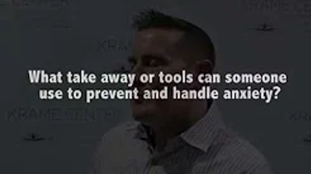 Tools for Anxiety