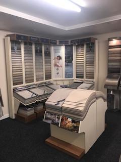 Cormar carpets display stands