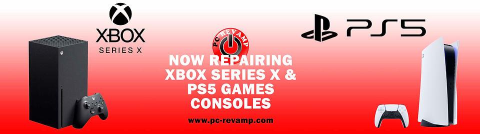 Xbox Series X & PS5 Repairs