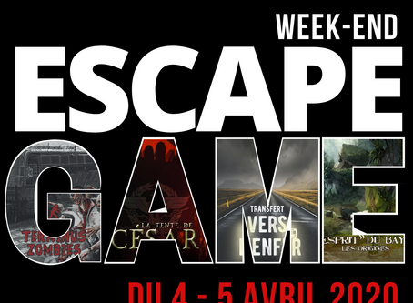 Village Escape les 4&5 avril 2020 aux Carroz