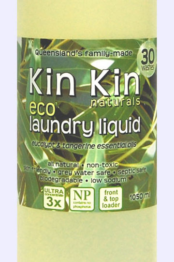 Kin Kin Natural Eco Dish Washing Liquid -Lime and Eucalypt