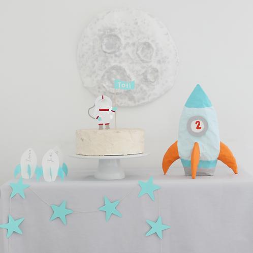 Viagem à Lua - Pack de Aniversário