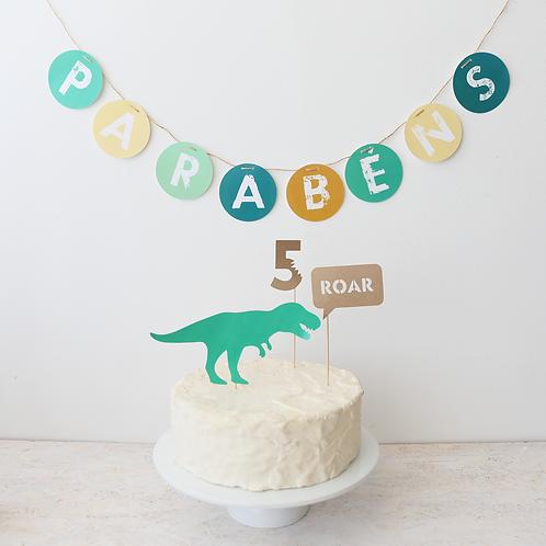 Dinossauros - Mini Party Box