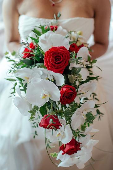 bouquet de marié fleurs