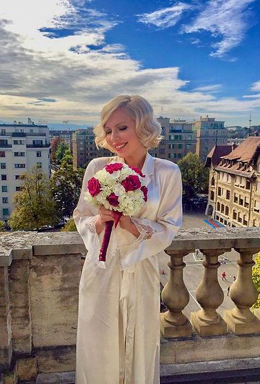 bouquet marié fleurs