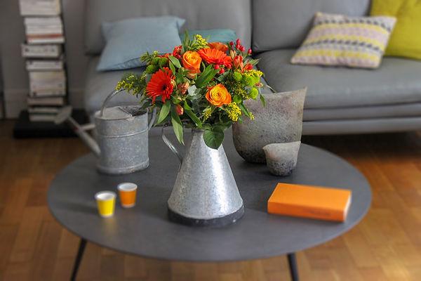 bouquet fleurs livraison