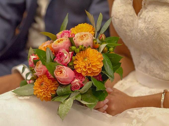 fleurs marié