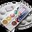 Thumbnail: Стикеры для предметов размером 25 мм х 50 мм