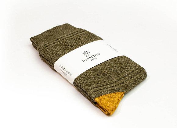 Royalties Melville Kaki Socks