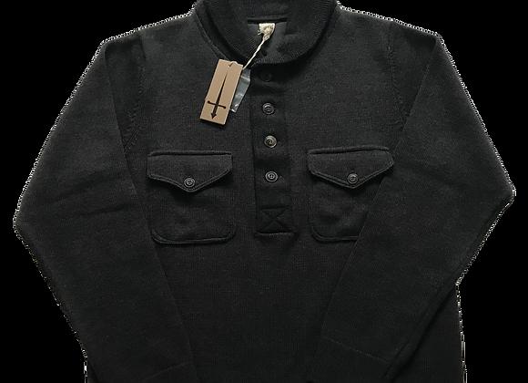 G.R.P. Wool Polo Collar Jumper