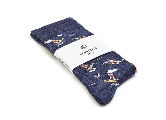 Royalties Roy Indigo Socks