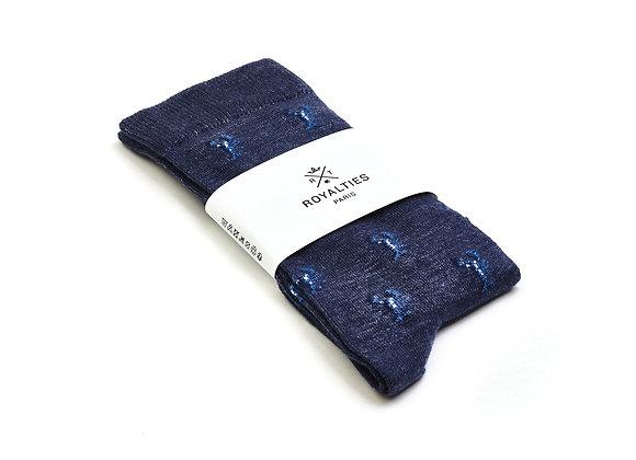 Royalties Homard Indigo Socks