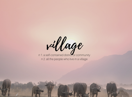 Who's in your village?