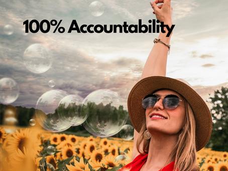 100% Accountability