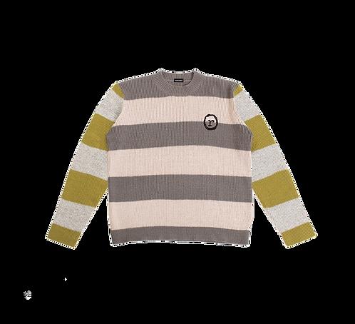 Scholars Stripe Knit Sweater