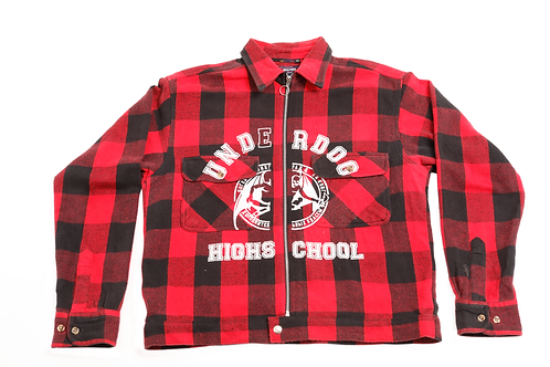 UDHS Red Bufalo Flannel JAcket