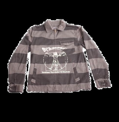 Davinci Scholars Stripe Zip Jacket