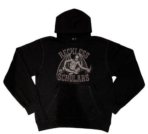 Reckless Scholars Metal-Head Stud Hoodie