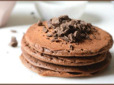 """Le pancake """"très"""" chocolaté"""
