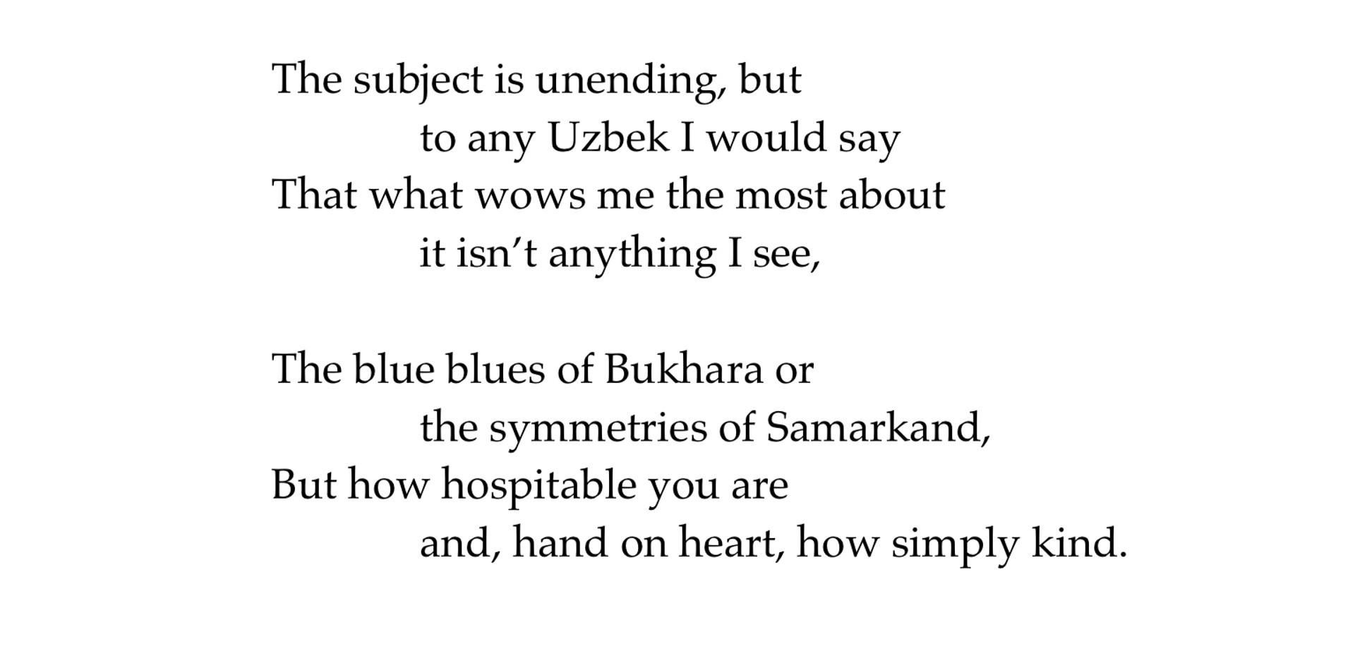 A New Diwan poem 84